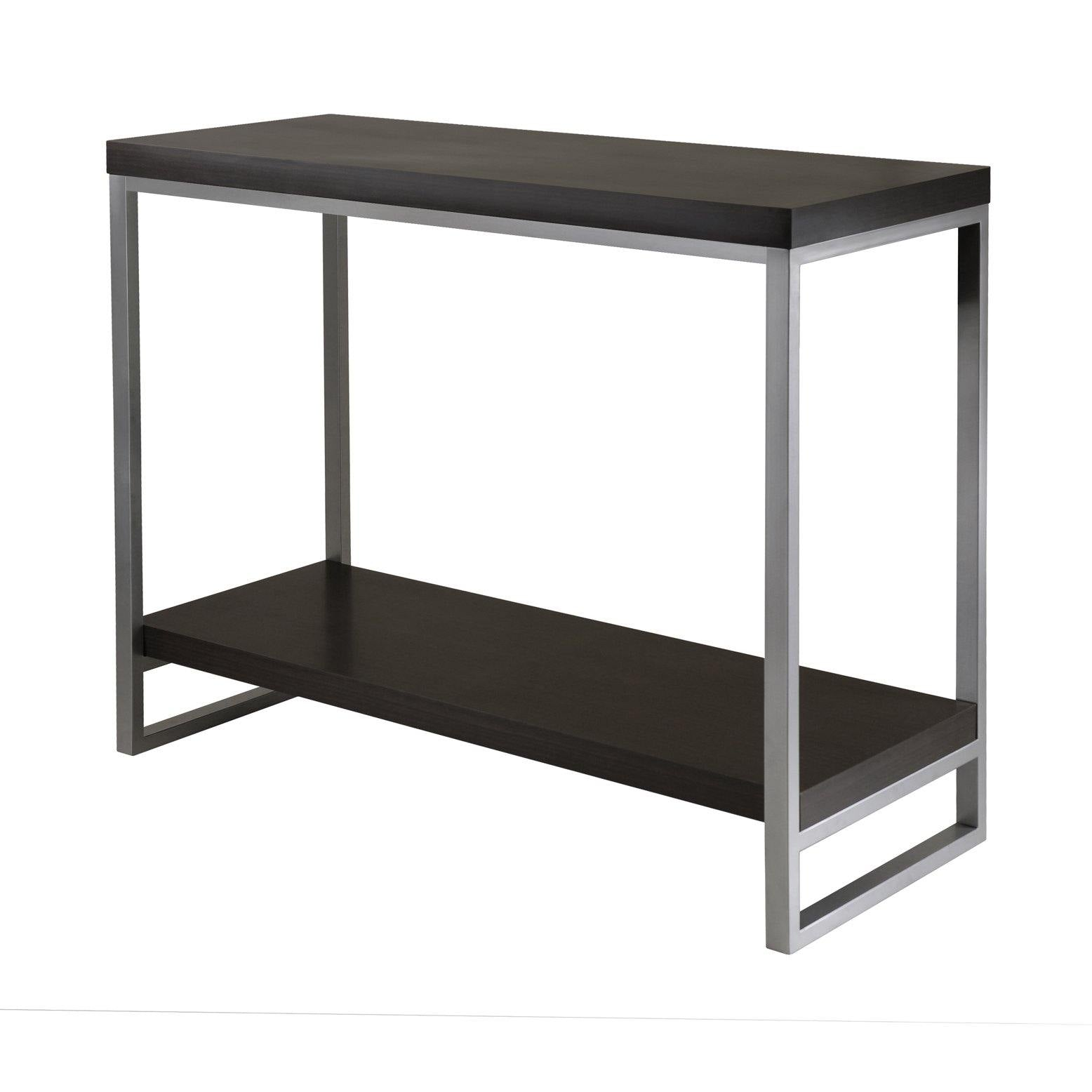 Jared Console Table, Enamel Steel Tube - My USA Furniture