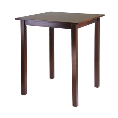 Parkland Square High Pub Table, Walnut - My USA Furniture