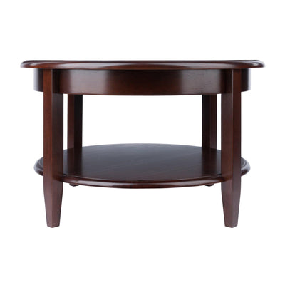 Concord Round Coffee Table with Drawer and Shelf - My USA Furniture
