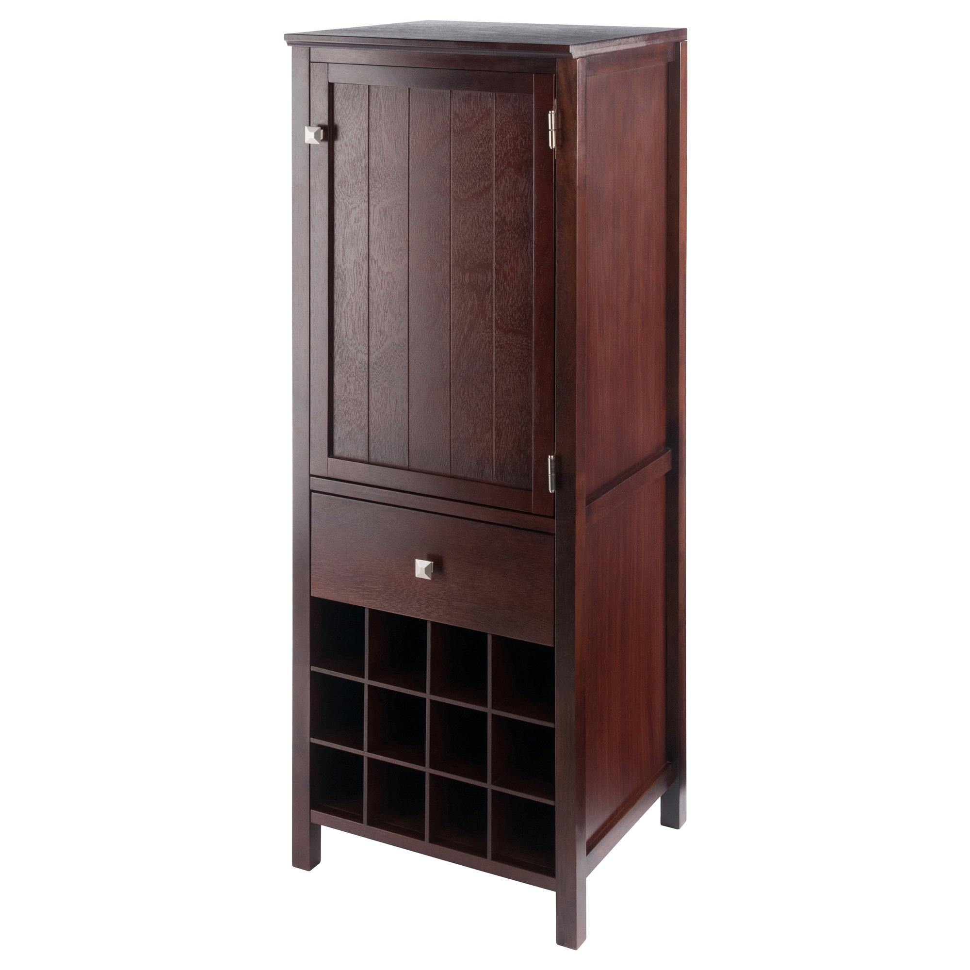 Brooke Jelly Cupboard Walnut Finish - My USA Furniture