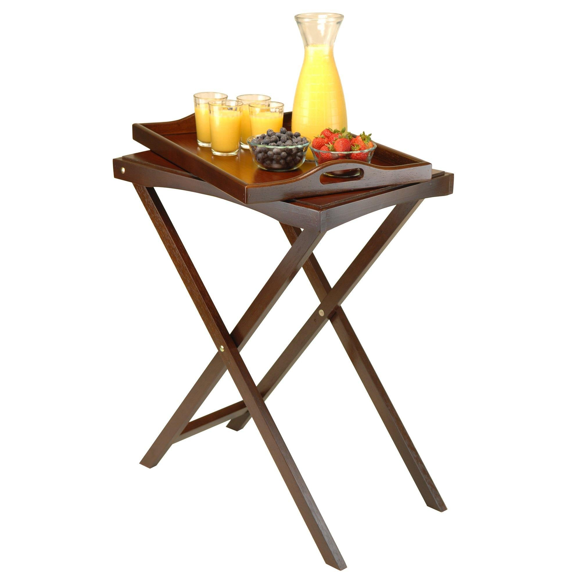 Devon Butler Table with Serving Tray - My USA Furniture