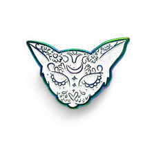 Load image into Gallery viewer, Sugar Skull Cat Pin
