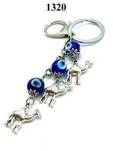 Evil Eye Camel Key Chain  LuckyEye #1320