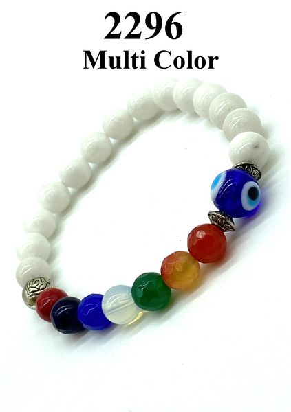MultiColor Evil Eye Bracelet  #2296