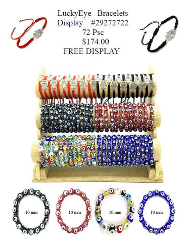 LuckyEye Bracelet Display #29272722