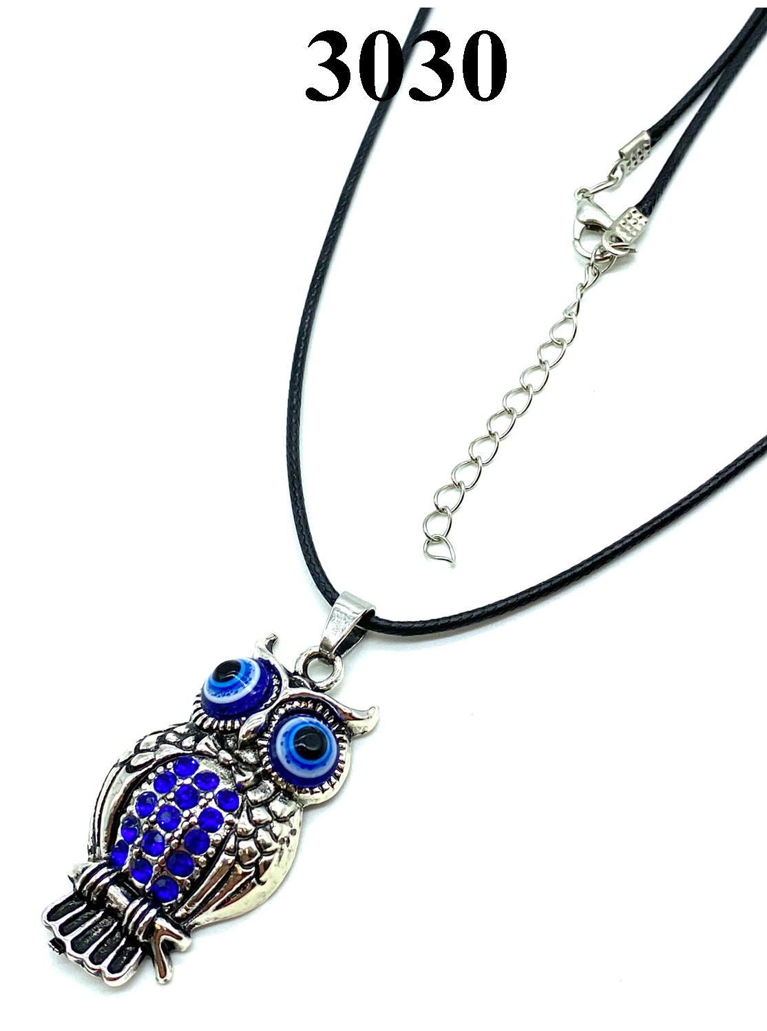 Owl Evil Eye Necklace #3030