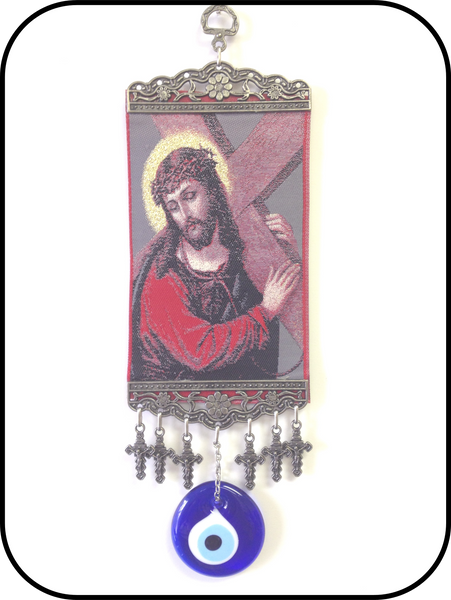 Religious Hanging Carpet & Lucky eye Home Accessory  #5322