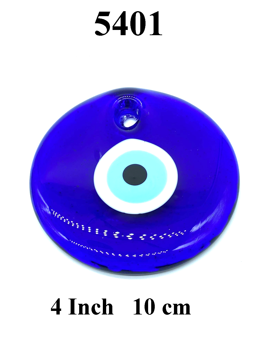 "4"" Evil Eye Glass Eye Amulet Home Accessory #5401"