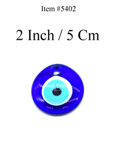 "2"" Glass Evil Eye Amulet Talisman Home Accessory  #5402"