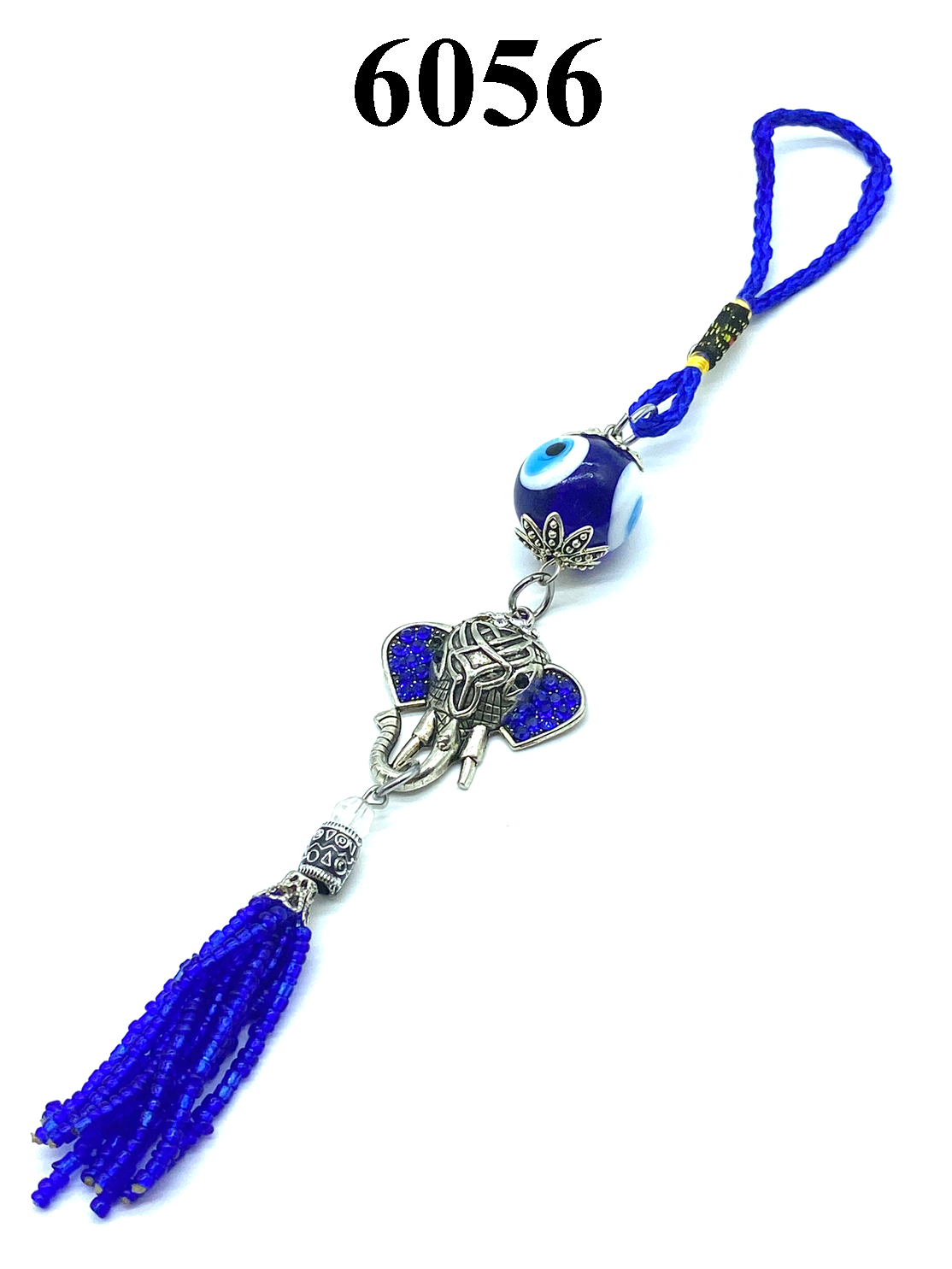 Evil Eye & Elephant Hanging Car Accessory #6056