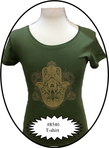 Lucky Eye Hamsa T-Shirt  #8540