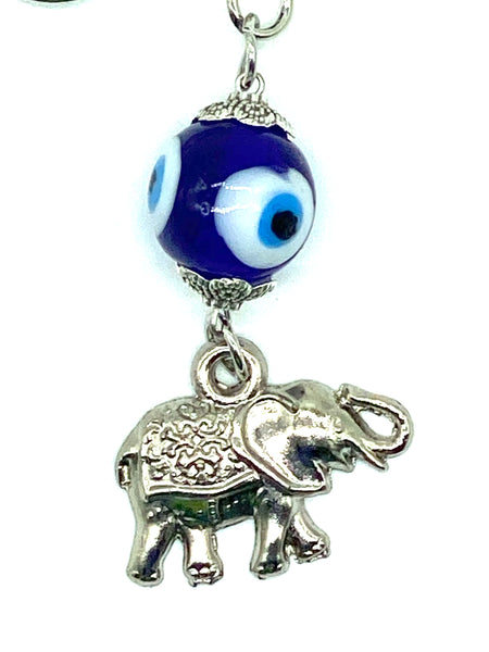 Lucky Eye Elephant KeyChain #1029
