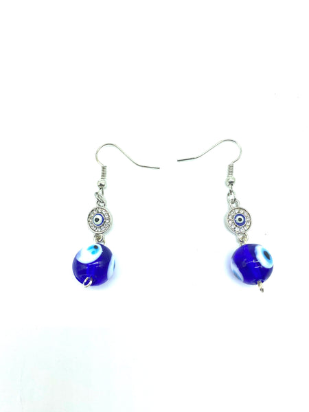 Evil Eye Earrings  #8060