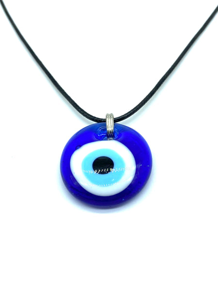 Evil Eye traditional glass eye necklace #3060