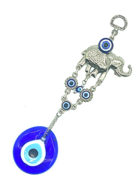 Evil Eye elephant with 5cm glass eye home accessory #5089