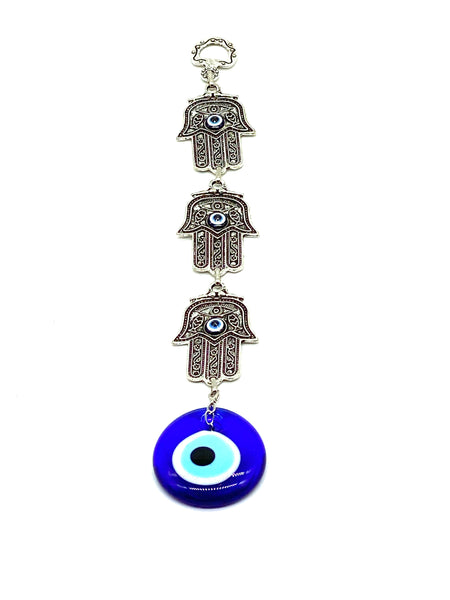Evil Eye three  hamsa  home accessory #5062