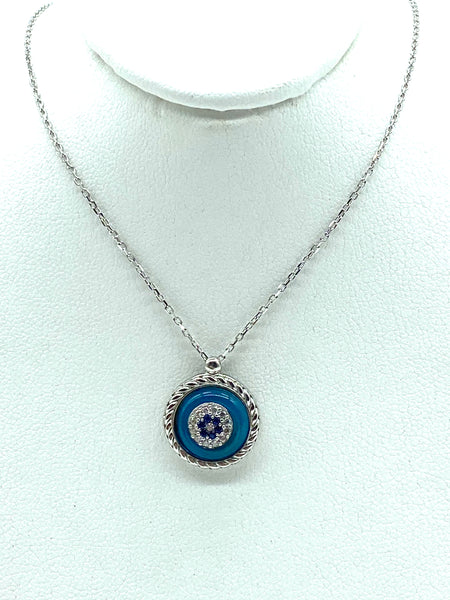 925 Sterling Silver Lucky Eye #9991