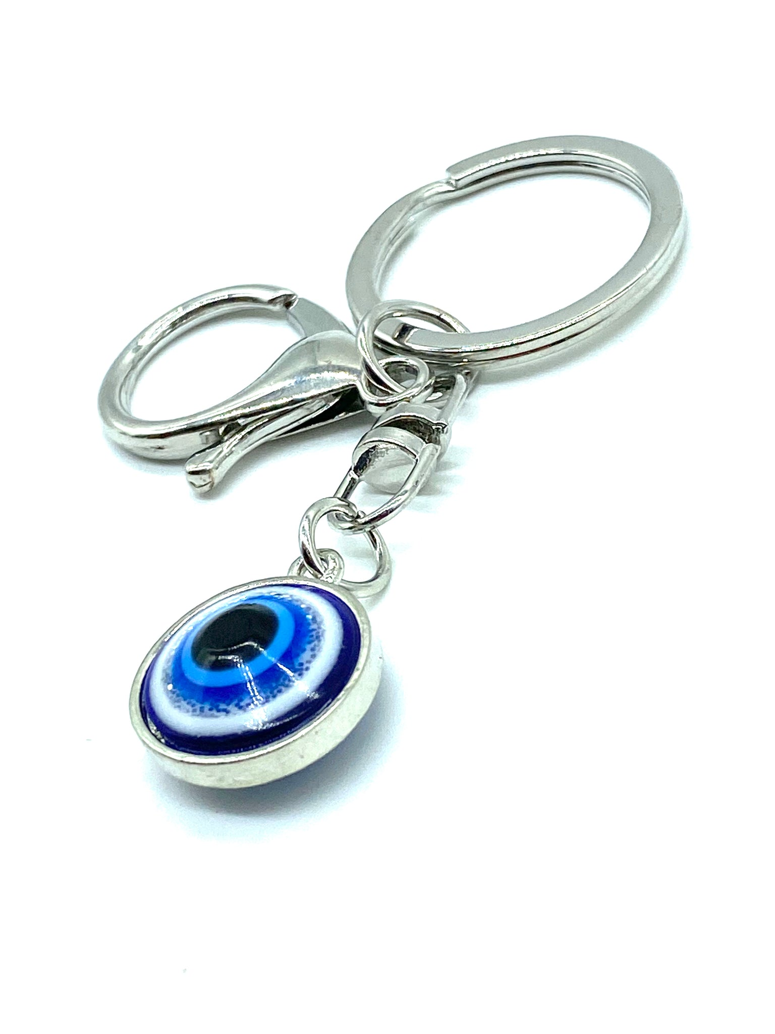 Evil Eye Good Luck Charm Keychain #1021