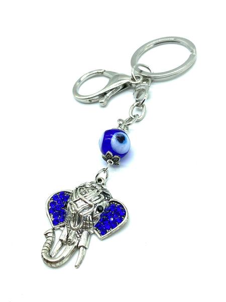 Evil Eye Elephant Key chain #1028