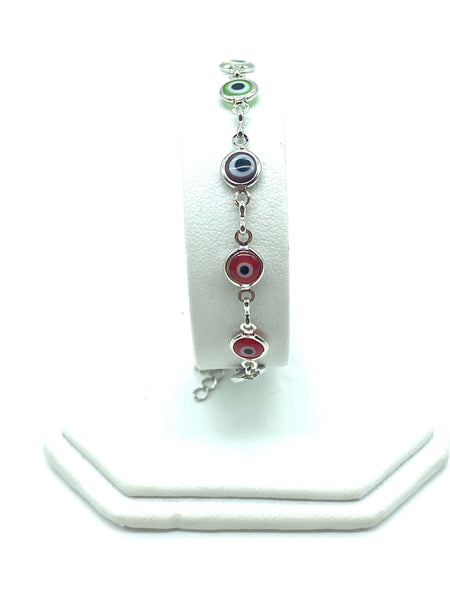 Evil Eye Gold and Silver Plated Bracelets #2505