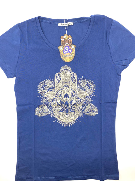 Lucky Eye Hamsa T-Shirt  #8520