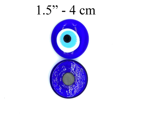 Glass Evil Eye Magnet #5378
