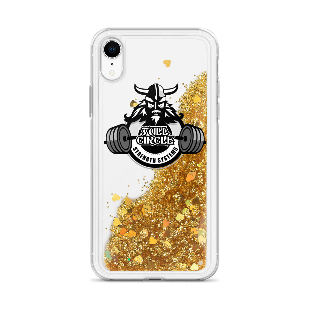FCSS Custom Liquid Glitter Phone Case