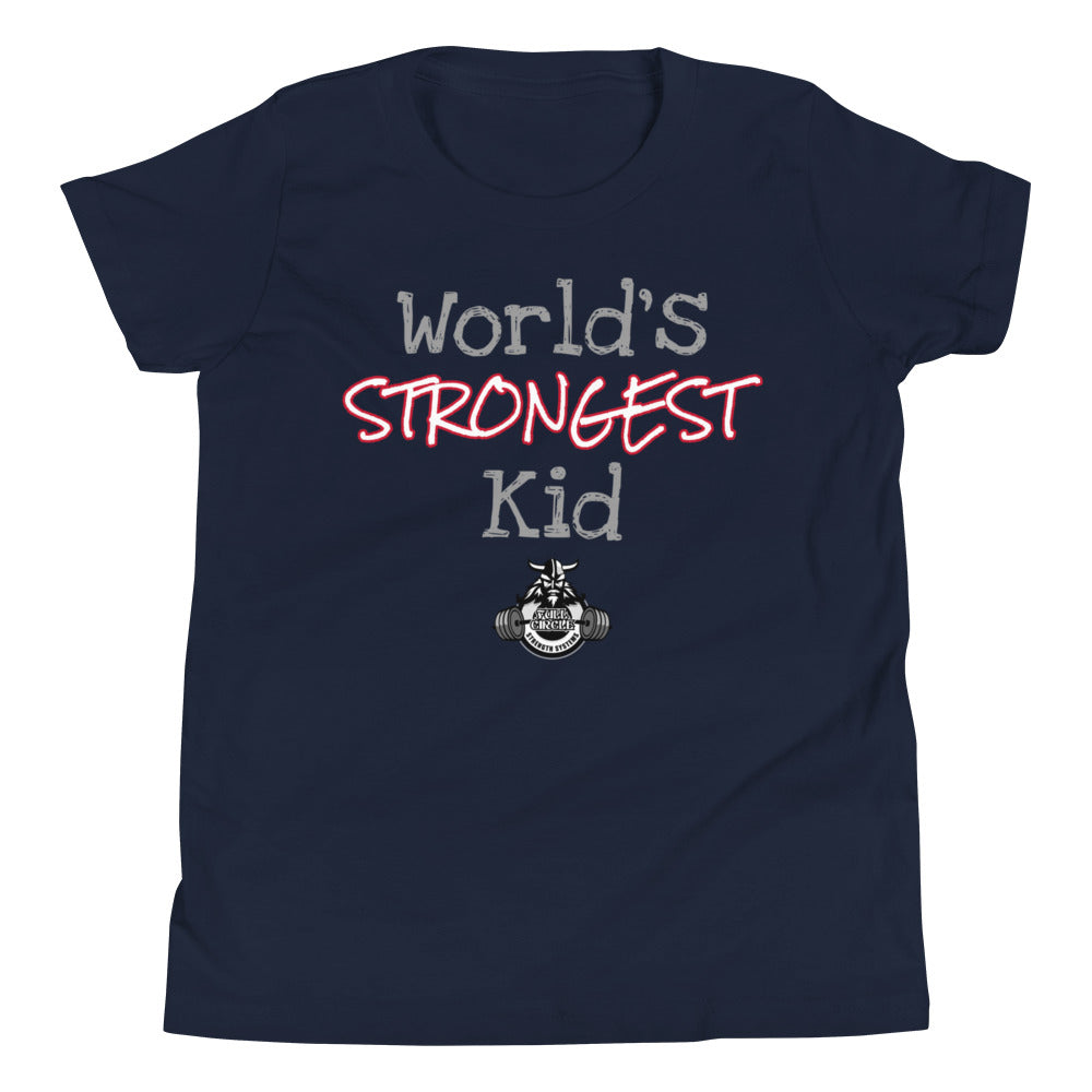 Youth World's Strongest T-Shirt