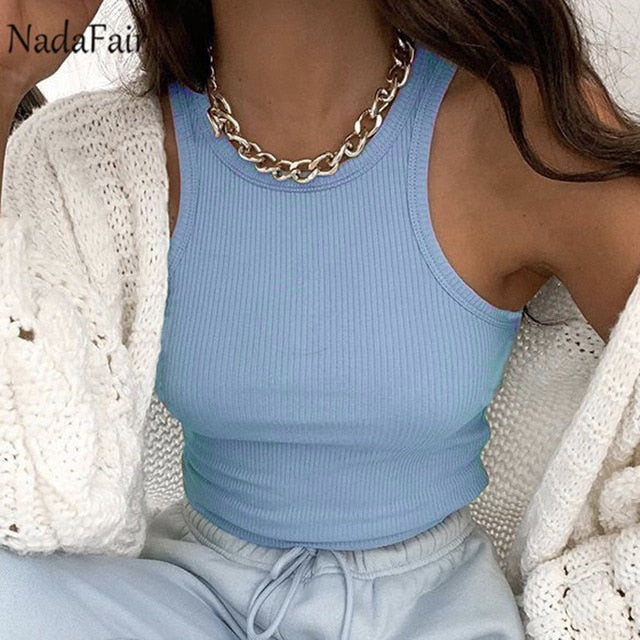 High Neck Crop