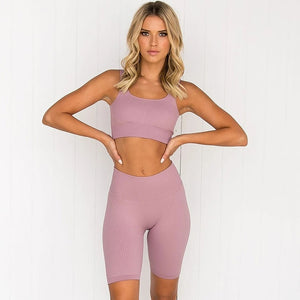 Catalyst Lounge Seamless Shorts Set