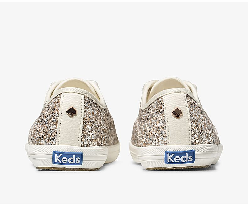 Women's Keds x kate spade new york Champion Glitter Multi Metallic