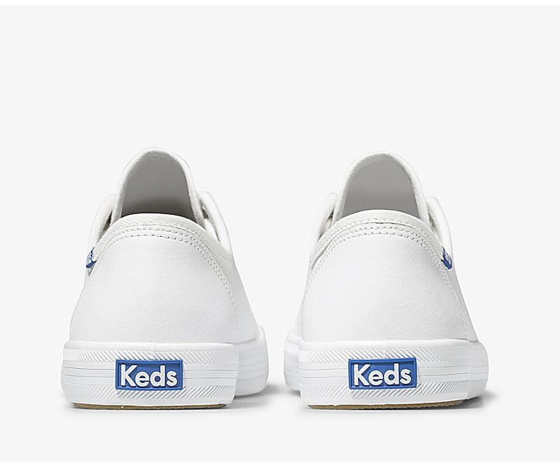 Women's Kickstart Leather White