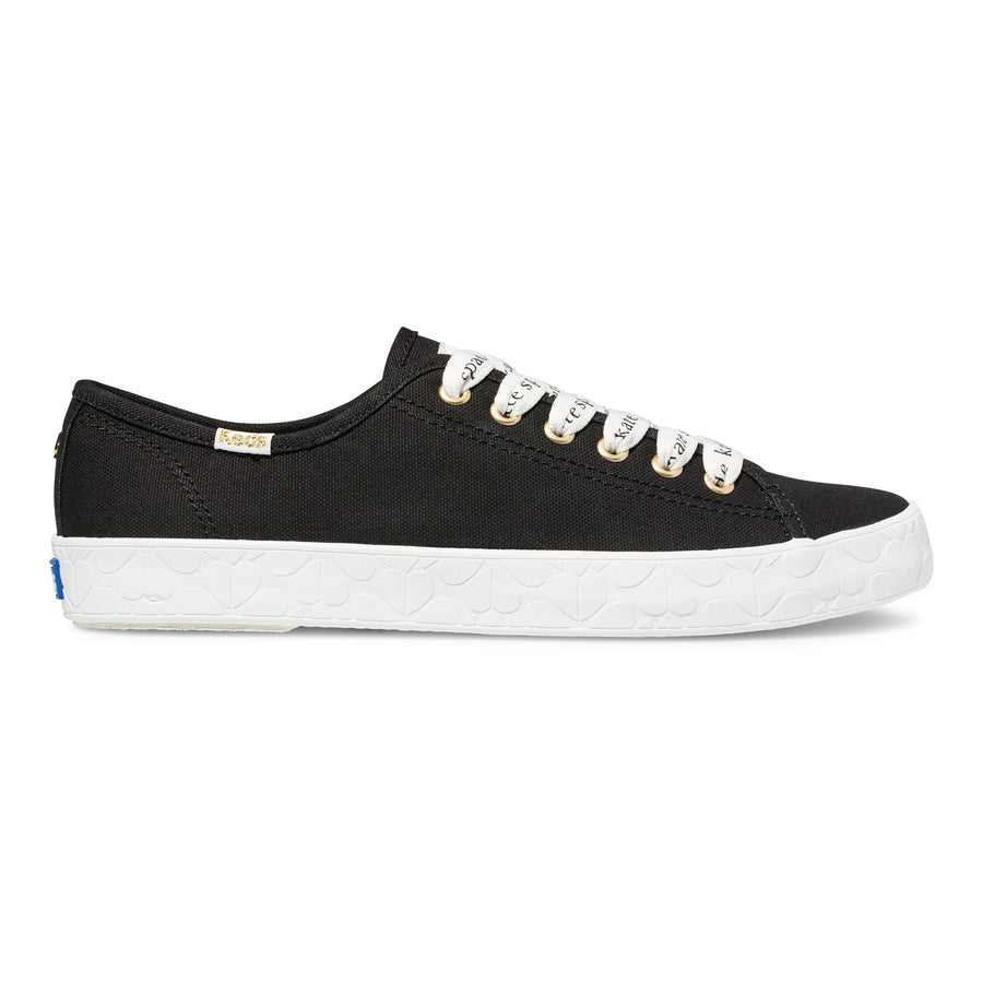 Women's Keds x kate spade new york Kickstart Logo Foxing Black