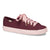 Women's Keds x kate spade new york Kickstart Logo Foxing Burgandy