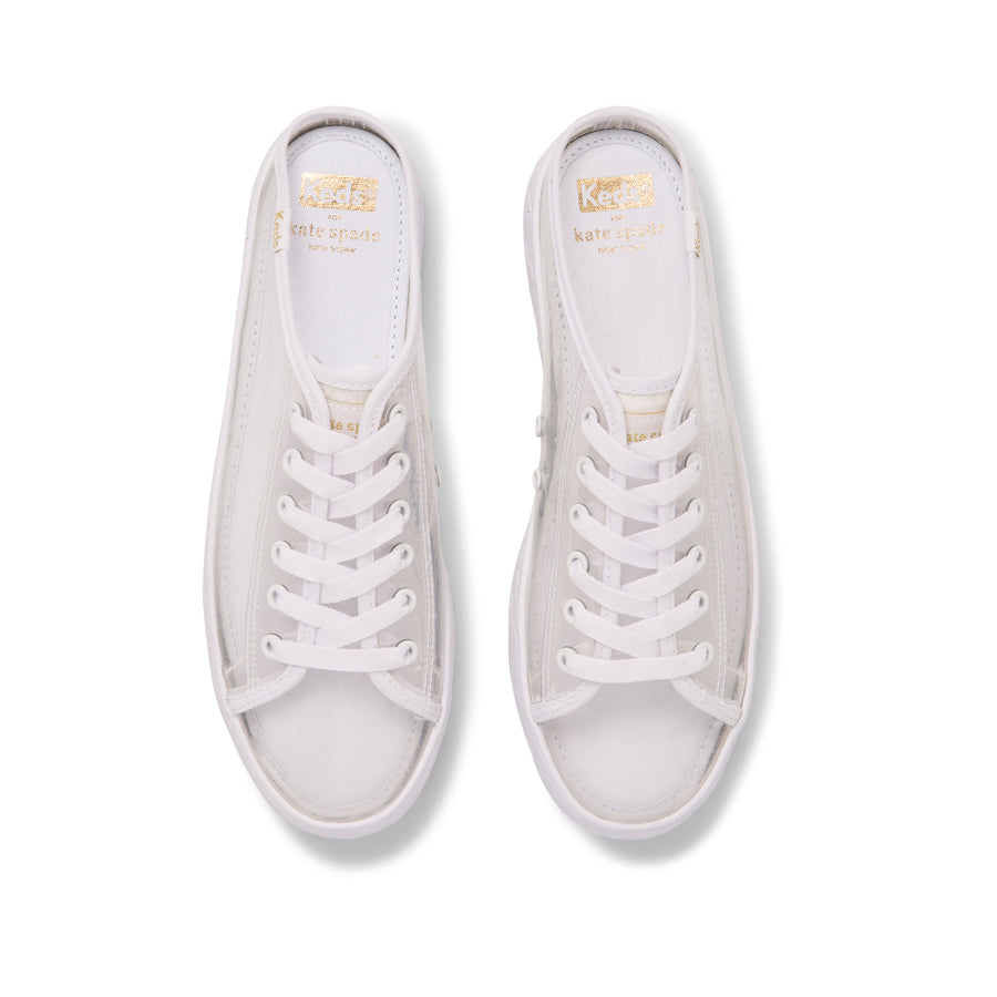 Women's Keds x Kate Spade new york Kickstart Mule TPU Clear