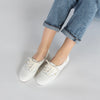 Women's Champion Luxe Leather White