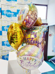 Birthday Present Balloon Bouquet in a Box
