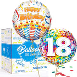 18th Balloon Bundle in a Box
