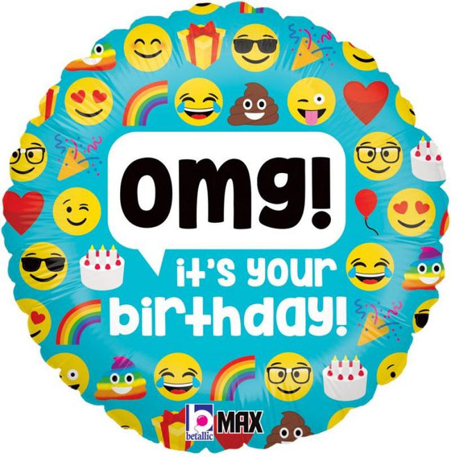 OMG! it's Your Birthday! Balloon in a Box