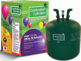 Large Disposable Helium Gas Cylinder | Up to 50 Party Balloons