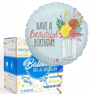 Have a Beautiful Birthday Balloon in a Box