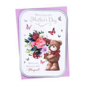 With Love on Mother's Day Greetings Card