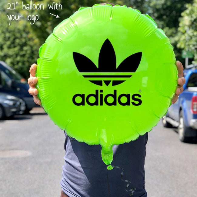 Foil Balloon with one colour logo