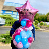 Surprise! You are going to ... Stuffed Balloon Piñata