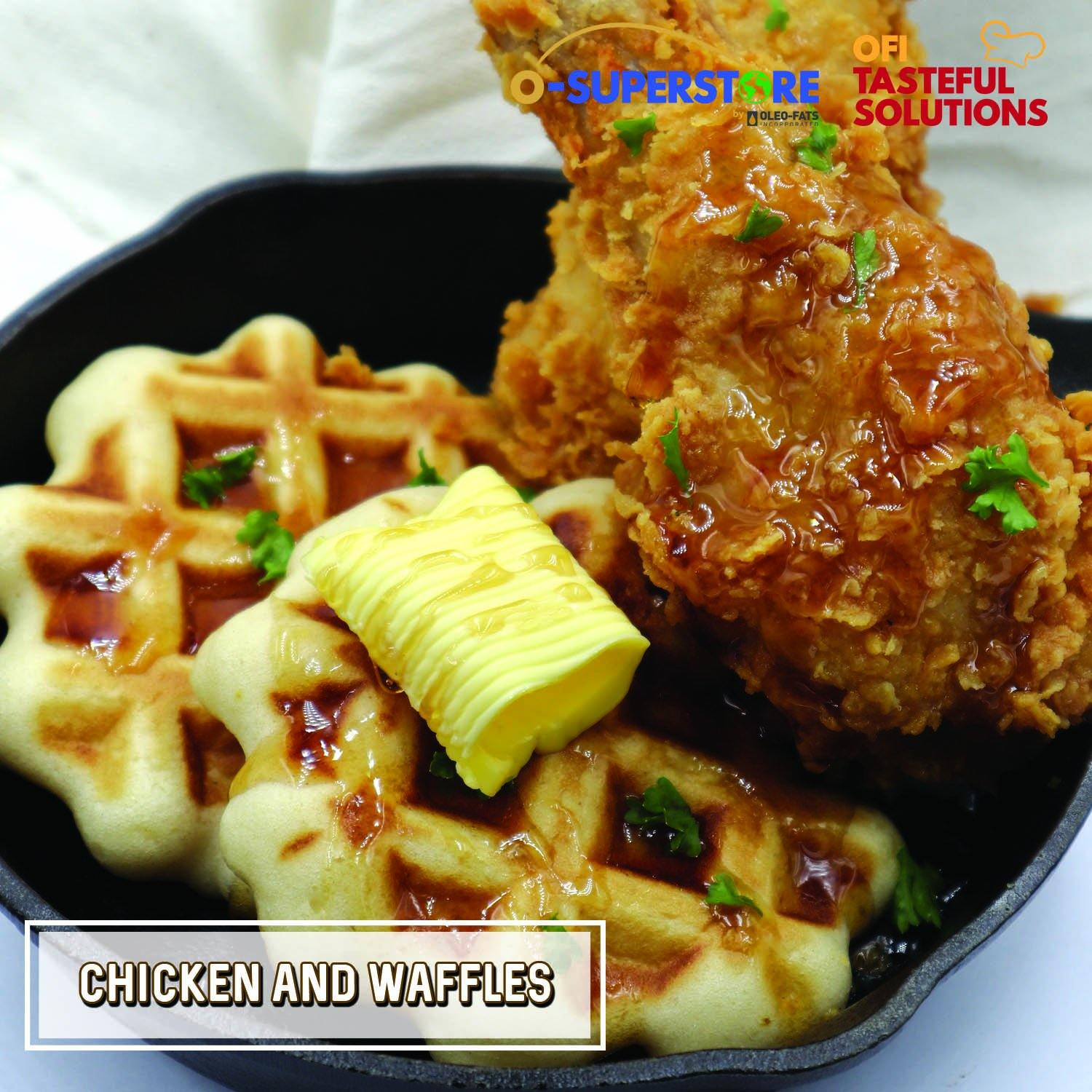 Chicken and Waffles - O-SUPERSTORE