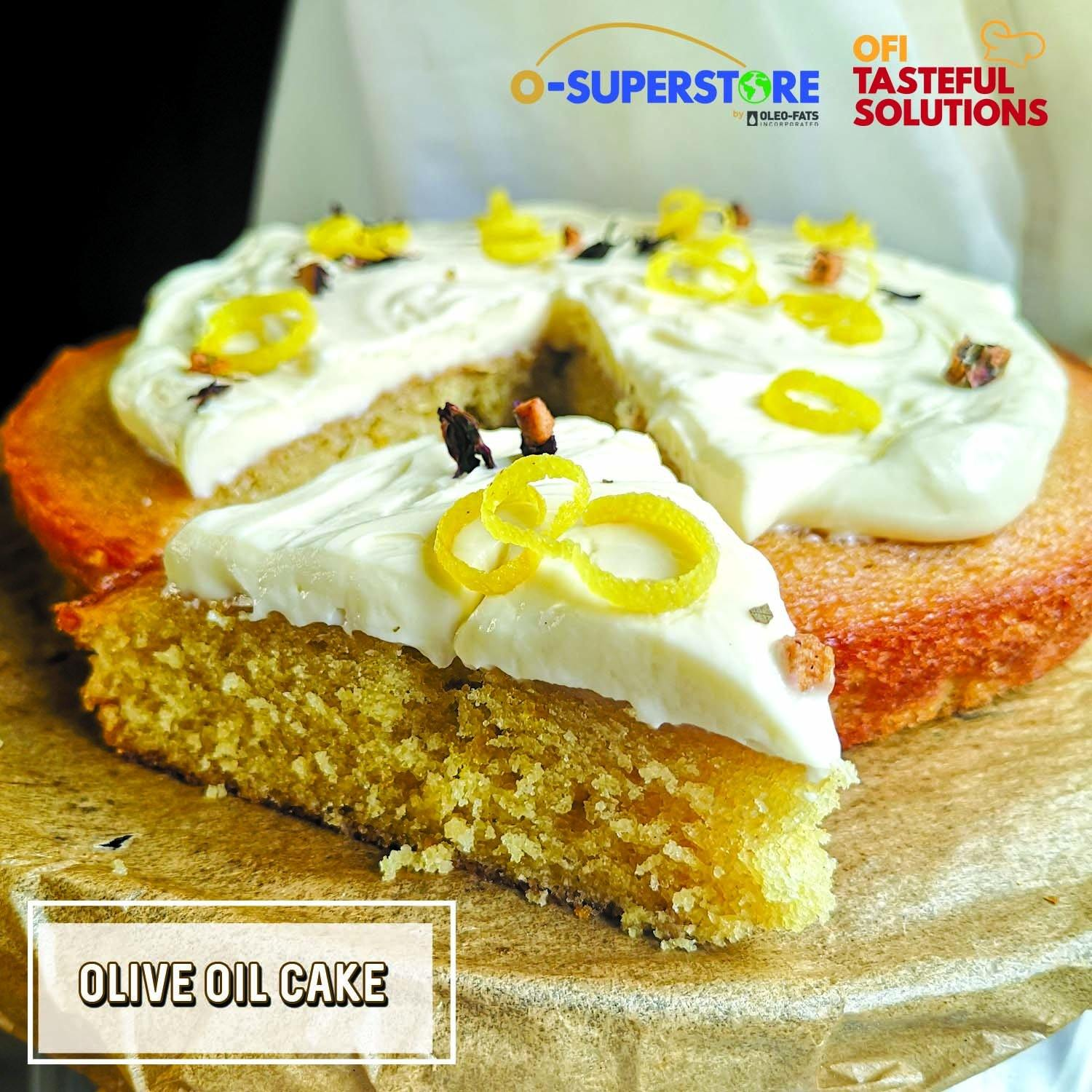 Olive Oil Cake - O-SUPERSTORE