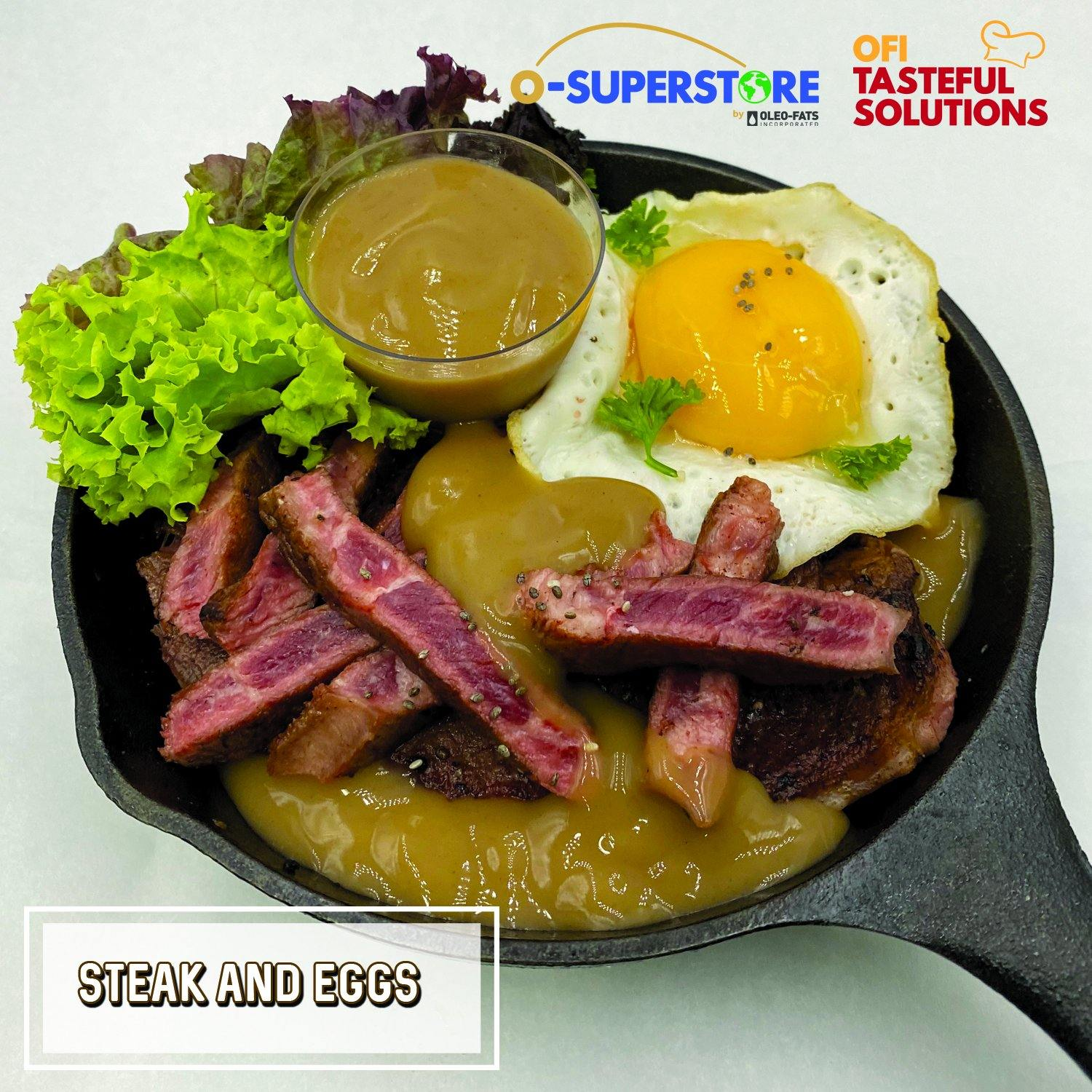 Steak and Eggs - O-SUPERSTORE