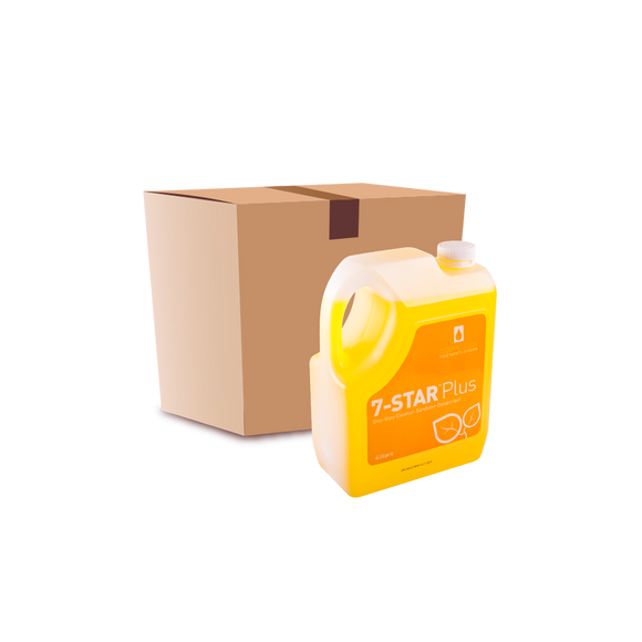7-Star Plus Disinfectant Cleaner (4L) - Case