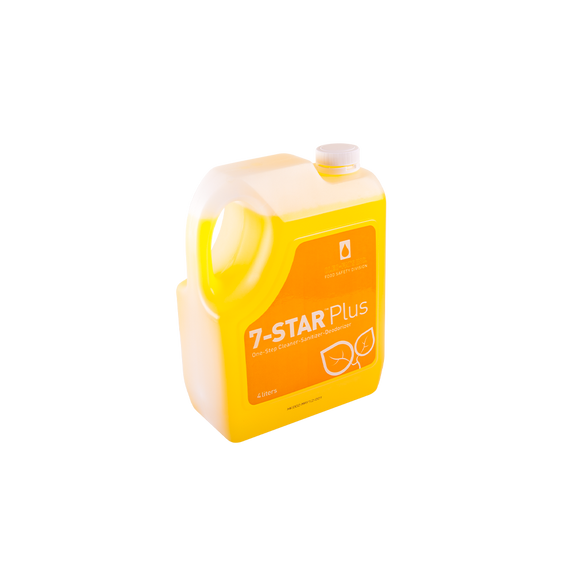 7-Star Plus Disinfectant Cleaner (4L)