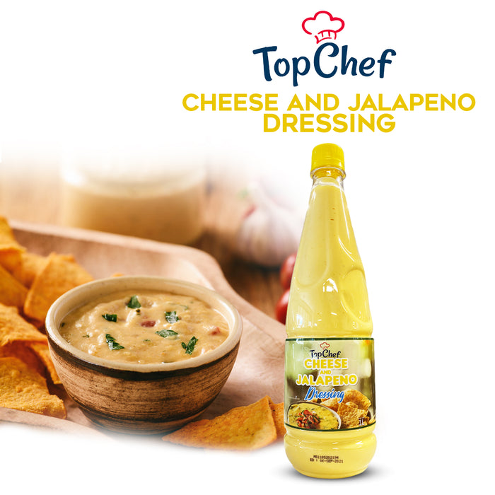 TopChef Cheese and Jalapeno Dressing 1L